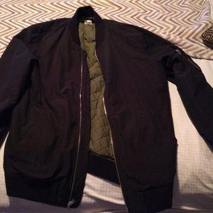 GAP Brand New Black Classic BOMBER Jacket